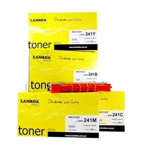 Tonery BROTHER TN-241 CMYK 4 tonery TN241 LAMBDA